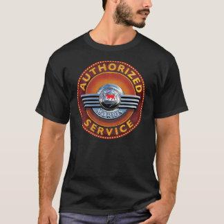 vintage de dienstteken van morrisauto's t shirt