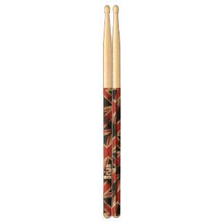 Vintage de Gepersonaliseerde Trommelstokken van Drumstokkies 0