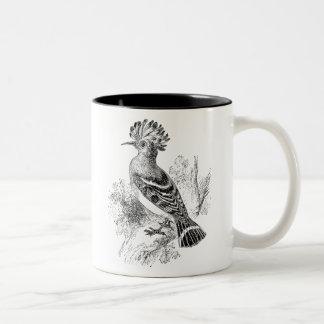 Vintage de Gepersonaliseerde Vogels van Madagascar Tweekleurige Koffiemok