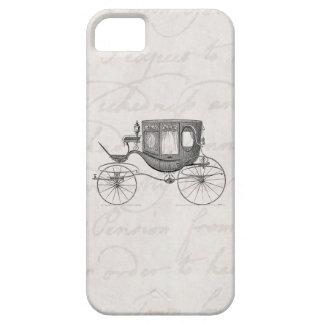 Vintage de Getrokken Antiquiteit van het Vervoer Barely There iPhone 5 Hoesje