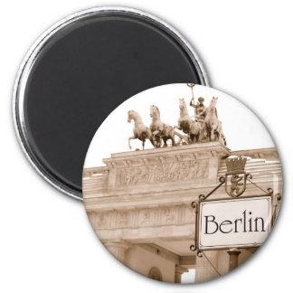 Vintage de koelkastmagneet van Berlijn Ronde Magneet 5,7 Cm