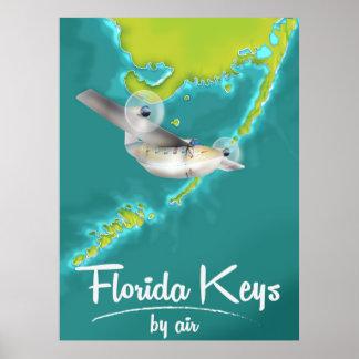 Vintage de reisposter van de Sleutels van Florida Poster
