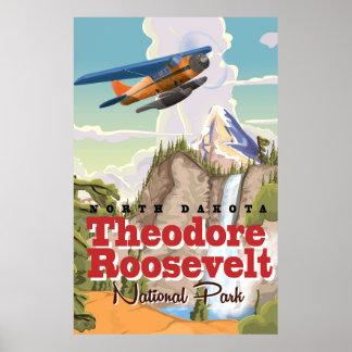 Vintage de reisposter van het Park van Theodore Poster