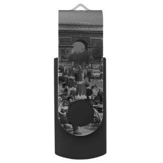 Vintage de Triomfantelijke boog van Frankrijk