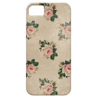 Vintage elegante bloemenrozen sjofele boho nam blo barely there iPhone 5 hoesje
