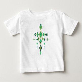 Vintage etnisch stammen Azteeks ornament Baby T Shirts