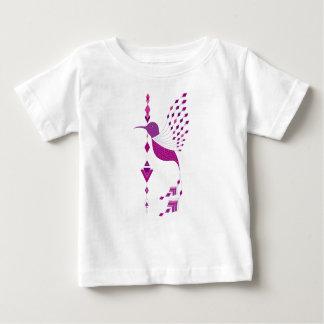 Vintage etnische stammen Azteekse vogel Baby T Shirts
