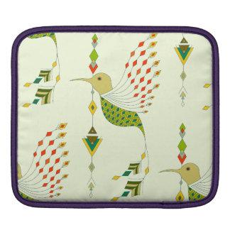 Vintage etnische stammen Azteekse vogel iPad Sleeve