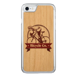 Vintage Fiets 1 Carved iPhone 8/7 Hoesje