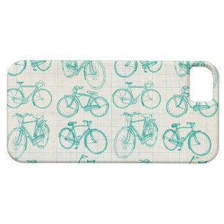 Vintage fietsenontwerp I telefoonhoesje Barely There iPhone 5 Hoesje