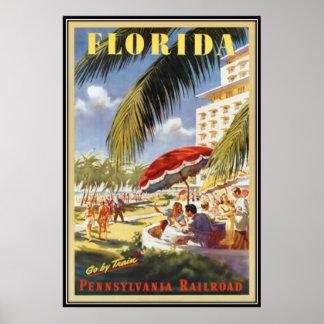 Vintage Florida, de V.S. - Poster