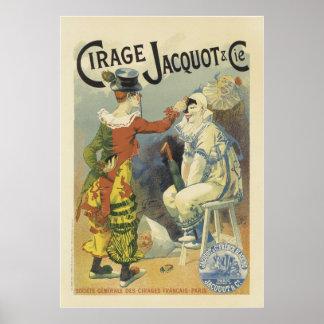 Vintage Franse Posters - het Circus van Clowns