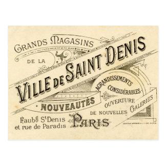 Vintage Franse Publiciteit Briefkaart