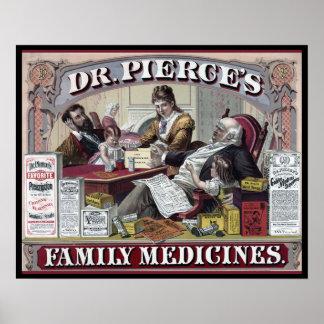 Vintage Geneesmiddelen: De Geneesmiddelen van de Poster