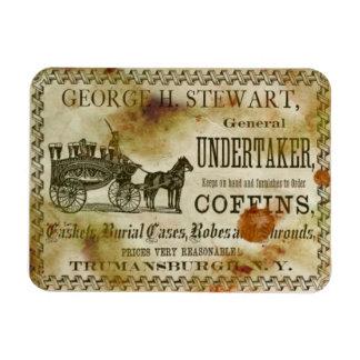 Vintage George Stewart Undertaker & de Magneet van