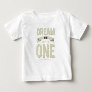 Vintage gestreepte Droom Cornsilk Grote Kleine Baby T Shirts
