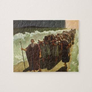 Vintage Godsdienst, Mozes Crossing van het Rode Puzzel