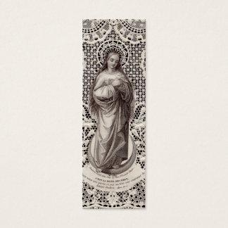 Vintage Godsdienstig Afbeelding voor het Art. van Mini Visitekaartjes
