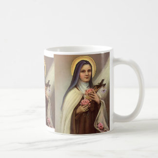 Vintage Godsdienstige Pasen, Non met Kruis Koffiemok