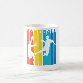 Vintage Grafisch Handbal Koffiemok