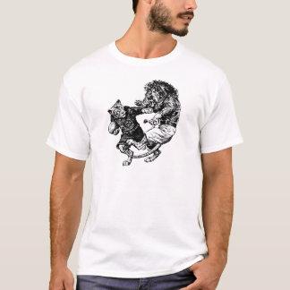 vintage Grappige rugbyspelers T Shirt