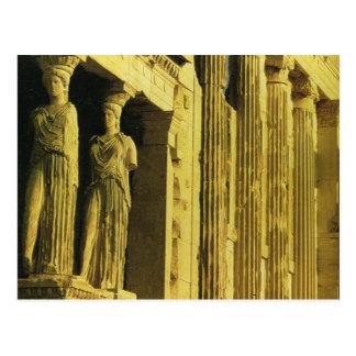Vintage Griekenland, Athene, Akropolis, Parthenon Briefkaart