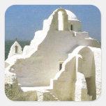 Vintage Griekenland, Myconos, Griekse Orthodoxe Ke