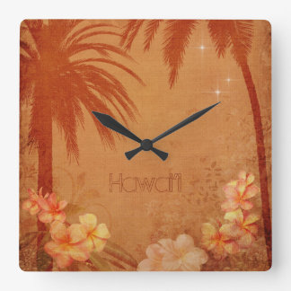 Vintage Hawaiiaanse Klok