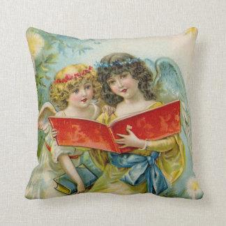 Vintage het decorhoofdkussen van de Engelen van de Sierkussen