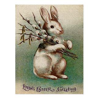 Vintage het Houden van Pasen Groet Briefkaart
