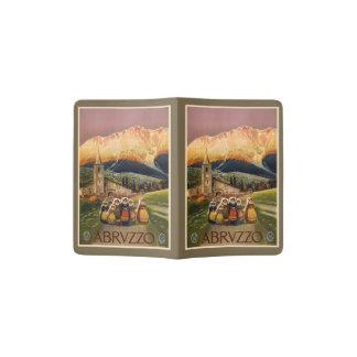Vintage het paspoorthouder van Abrvzzo Italië Paspoort Houder