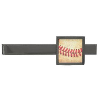Vintage honkbalbal verbronsde dasspeld