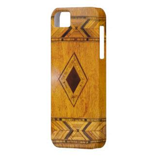 vintage houten iphone 5 hoesje