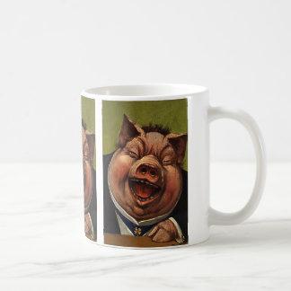 Vintage Humor, het Grappige Victoriaans Lachen van Koffiemok