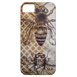 Vintage Insect Barely There iPhone 5 Hoesje