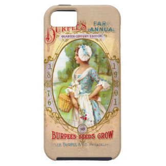 Vintage iPhone 5 van de Kunst van het Pakket van h Tough iPhone 5 Hoesje