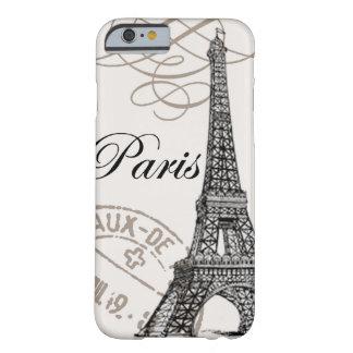 Vintage iPhone 6 van Parijs… hoesje Barely There iPhone 6 Hoesje