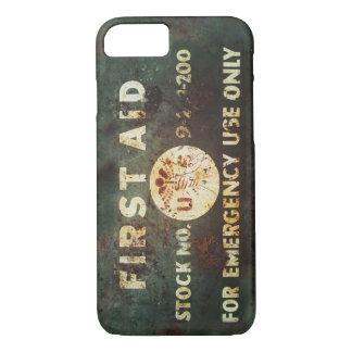 Vintage iPhone 7 van de Eerste hulp van WO.II iPhone 7 Hoesje