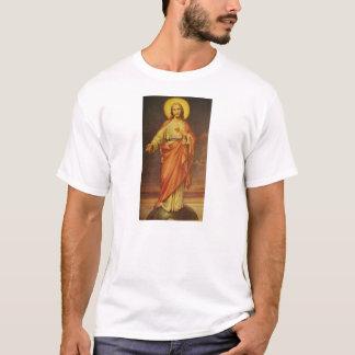 Vintage jaren '50 Heilig Hart van Jesus T Shirt