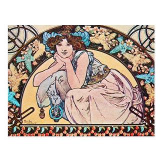 Vintage Jugendstil Briefkaart