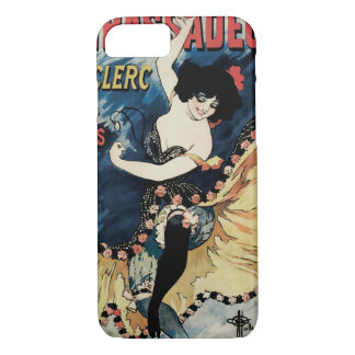 Vintage Jugendstil, de Spaanse Danser van het iPhone 8/7 Hoesje