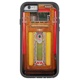 (vintage juke-boxhoesje) tough xtreme iPhone 6 hoesje