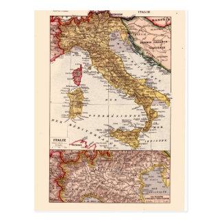 Vintage kaart, 1920, Italië Briefkaart