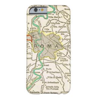 Vintage Kaart van ROME ITALIË Barely There iPhone 6 Hoesje