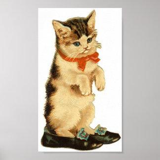 Vintage Kat Poster