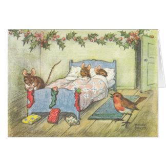 Vintage Kerstkaarten Briefkaarten 0