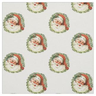 Vintage Kerstman Stof