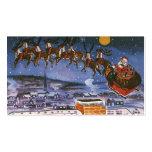 Vintage Kerstmis, de Kerstman Visitekaartjes