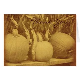 Vintage kijk de Herfst van Cornstalks van Kaart