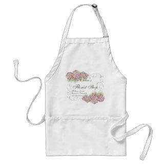 Vintage kijk Roze Hydrangea hortensia - Standaard Schort